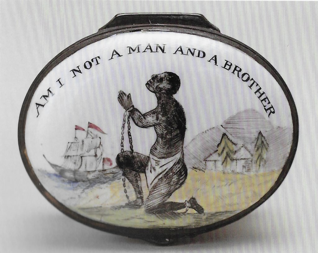 Anti slavery medallion