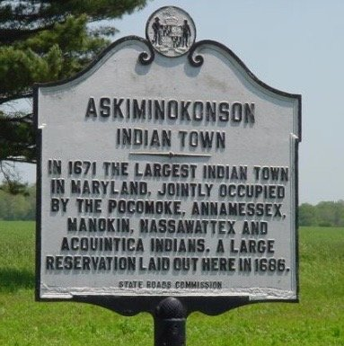 Askiminokonson sign