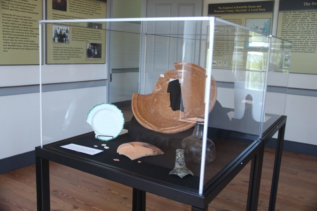artifact on display