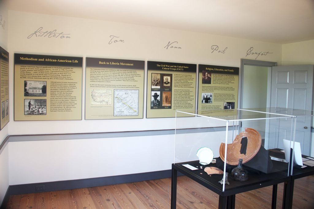 exhibit wall