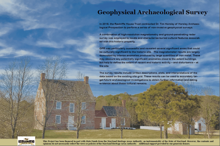 Geophysical Archaeological Survey information